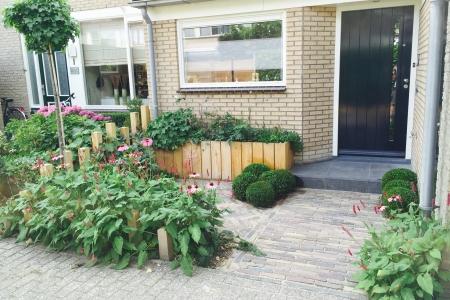 Voortuin Linschoten eikenhout