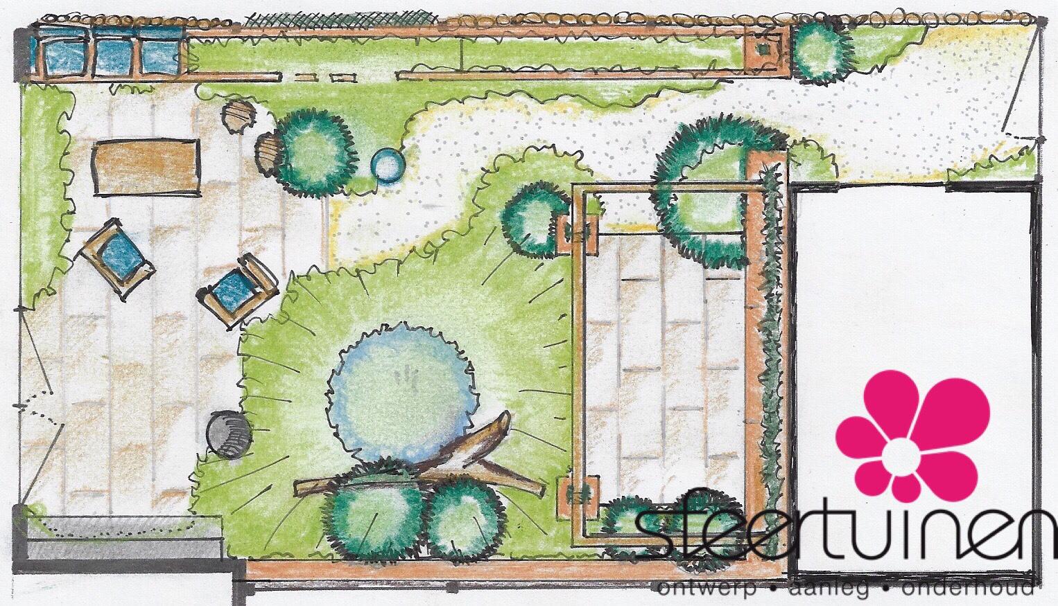 Een tuinontwerp met klimaatvriendelijke inrichting